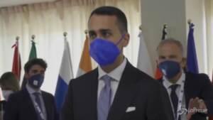 """Di Maio apre il G20 a Matera: """"Obiettivo presidenza italiana è contrastare impatto pandemia"""""""