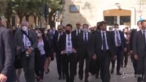 G20, i ministri arrivano in treno a Matera per il vertice