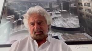 """Caos 5 stelle, Grillo: """"Io non sono il padre padrone del Movimento, io sono il papà"""""""
