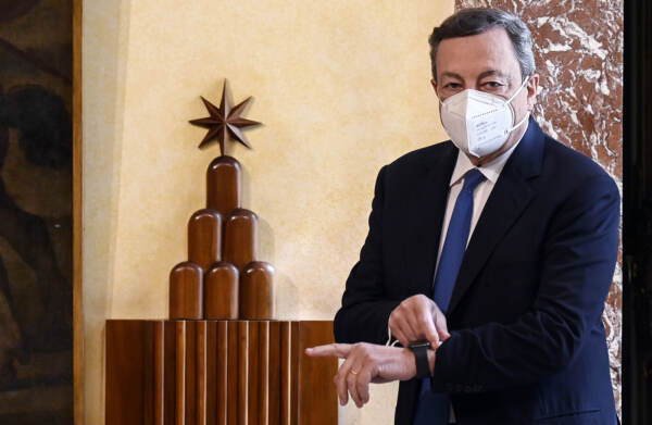 Roma, Mario Draghi riceve il Segretario di Stato degli Stati Uniti d'America Anthony Blinken