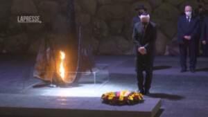 Gerusalemme, il presidente tedesco Steinmeier visita lo Yad Vashem