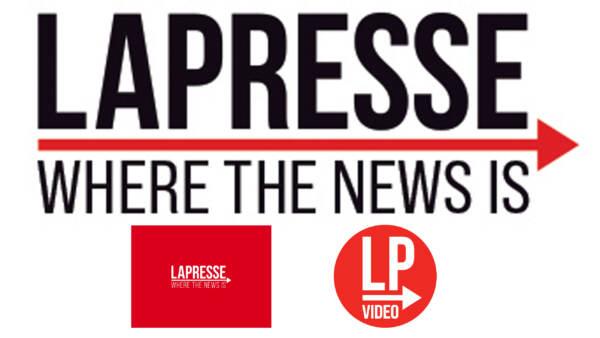 Il nuovo logo di LaPresse