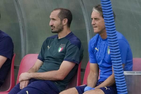"""Euro 2020, Mancini e Chiellini spingono l'Italia: """"Il Belgio è forte ma vogliamo vincere"""""""