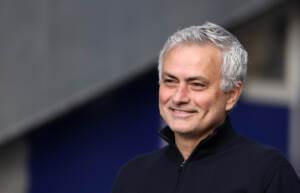 José Mourinho è arrivato a Roma