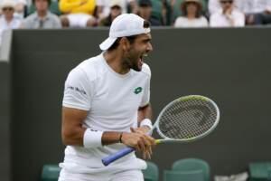 Wimbledon, Berrettini e Sonego volano agli ottavi
