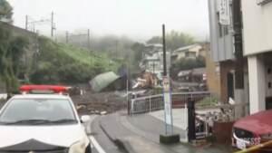 Giappone, dispersi in una frana vicino a Tokyo: due morti