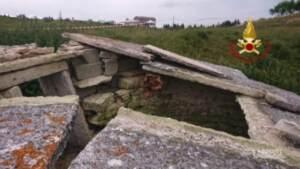Crolla tetto di una vecchia ghiacciaia nel Veronese: morti 2 bambini