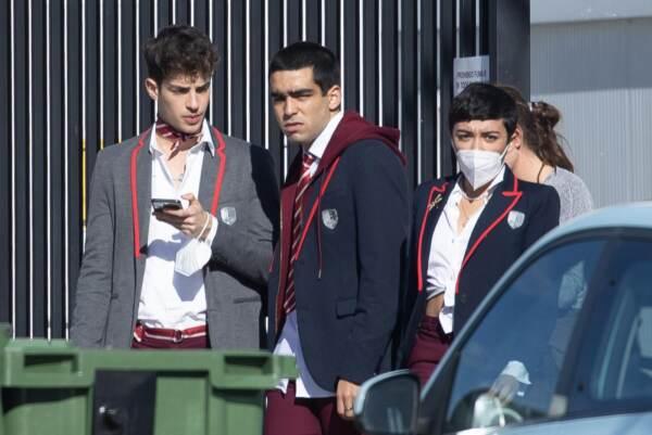 Il cast di Elite gira la nuova stagione a Madrid