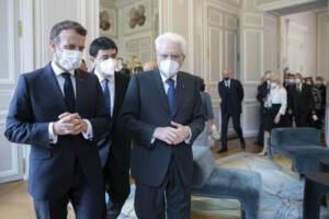 """Italia-Francia, Mattarella: """"Partnership essenziale per la Ue"""""""