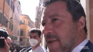 """Amministrative, Salvini: """"Sosteniamo Maresca e Bernardo, siamo uniti e vincenti"""""""