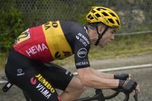 Tour de France, 11/a tappa a Van Aert. Pogacar difende maglia gialla