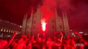 Italia in finale a Euro 2020, Milano pazza di gioia per la vittoria sulla Spagna