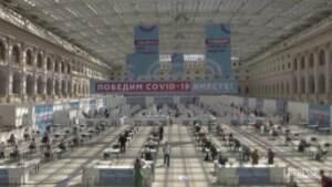 Mosca, apre il centro vaccinale più grande della Russia