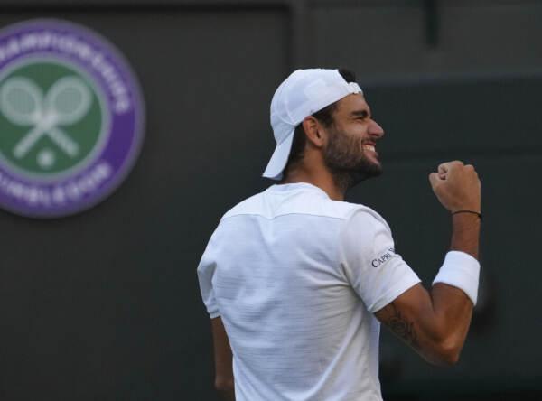 Wimbledon, Matteo Berrettini vola in semifinale