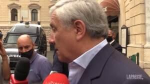 """Giustizia, Tajani: """"Spero che il M5s non affossi anche questa riforma"""""""