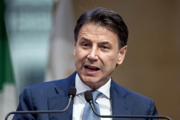 Movimento 5 Stelle, conferenza stampa di Giuseppe Conte
