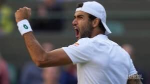 Tennis, Berrettini a caccia della finale di Wimbledon