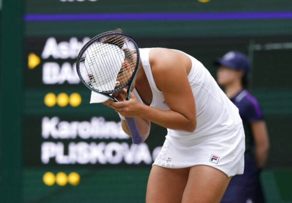 Wimbledon: Barty vince titolo donne, Pliskova ko in finale