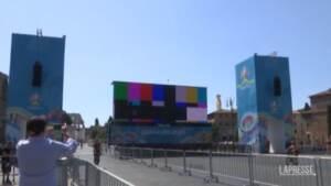 Euro 2020, Roma si prepara alla finale di Wembley tra Inghilterra e Italia