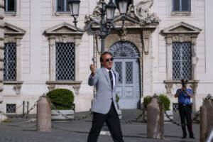 """L'Italia al Quirinale e Palazzo Chigi"""". Mattarella: """"Azzurri e Berrettini hanno reso onore allo sport"""". Draghi: """"Voi nella storia"""""""