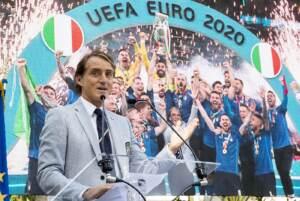 Presidente Mattarella riceve gli Azzurri e Matteo Berrettini al Quirinale
