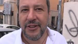 """Ddl Zan, Salvini: """"Nessun trabocchetto della Lega, discutiamo su quello che unisce"""""""