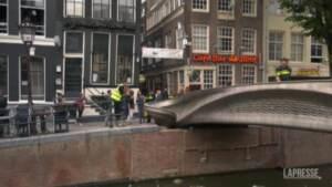 Amsterdam, inaugurato il primo ponte pedonale stampato in 3D