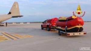 Alluvione in Belgio: l'Italia invia aiuti e mezzi