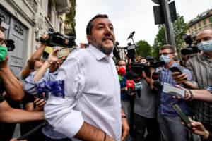 Milano, inaugurazione nuovo point della Lega Salvini Premier in viale Abruzzi 86