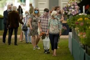 Londra, torna l'RHS Hampton Court Palace Garden Festival dopo la pandemia