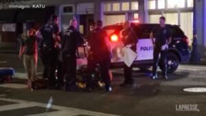 Usa, sparatorie a Portland: almeno due morti