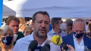 """Ddl Zan, Salvini: """"Quasi convinto che Letta voglia affossarlo"""""""