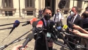 """M5S, Conte a Draghi: """"Su riforma giustizia contributo costruttivo, ma saremo vigili"""""""