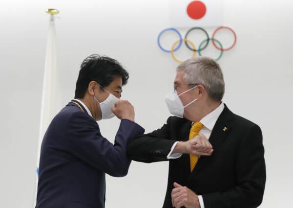 Olimpiadi Tokyo: Il presidente del Cio, Thomas Bach parla in conferenza