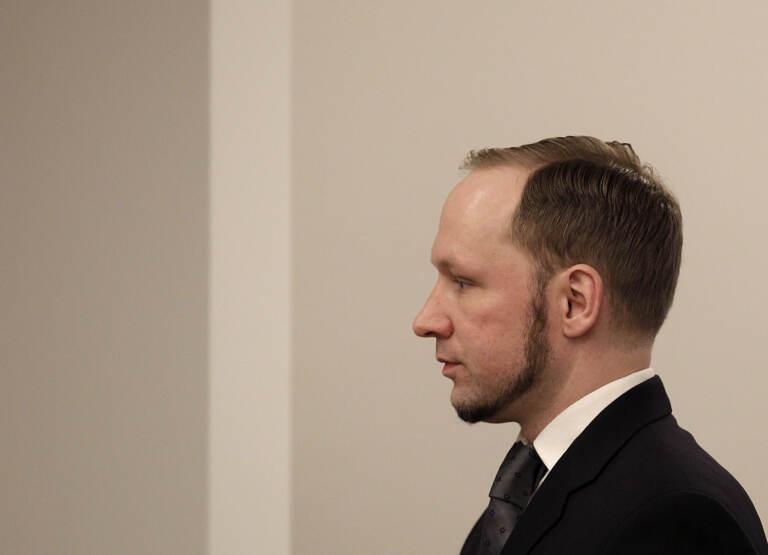 Anders Behring Breivik, autore della strage