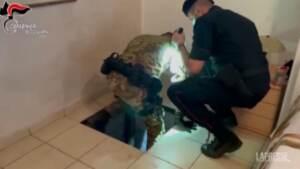Taurianova, scoperto un bunker sotto una camera da letto: denunciato proprietario