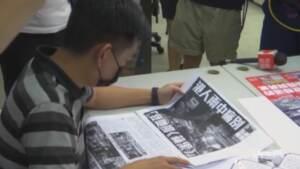 Hong Kong, arrestato ex caporedattore dell'Apple Daily