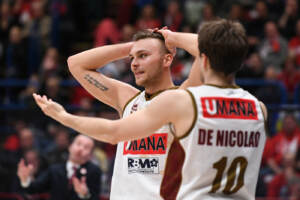 AX Armani Exchange Olimpia Milano vs Umana Reyer Venezia - Basket Serie A 2018/2019