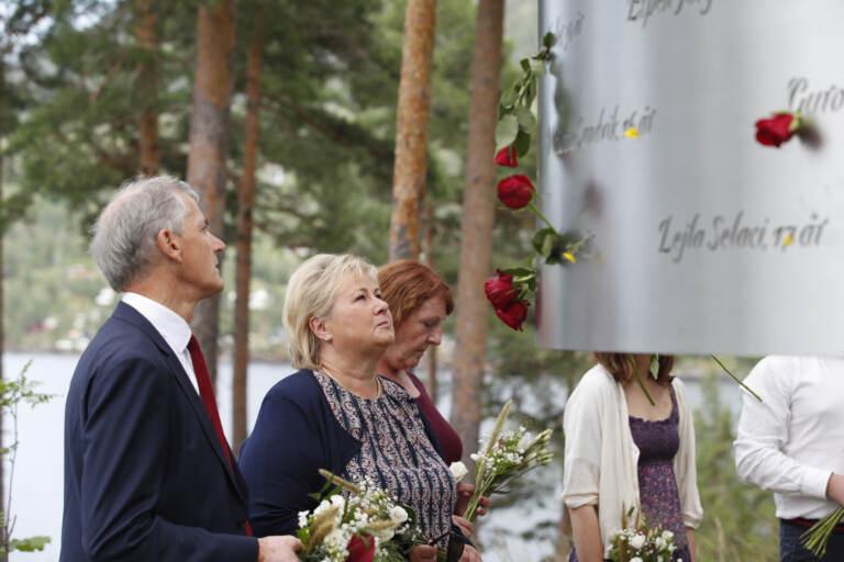Cerimonia in memoria delle vittime