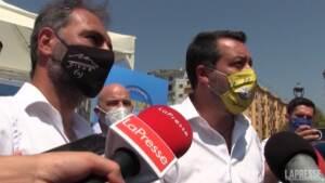 """Green pass, Salvini: """"No a obblighi ma mettere in sicurezza i fragili"""""""