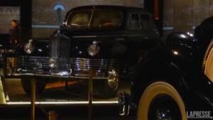 Mosca, in mostra le auto storiche del Cremlino