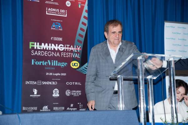 Filming Italy Sardegna Festival 2021 - Conferenza stampa di presentazione