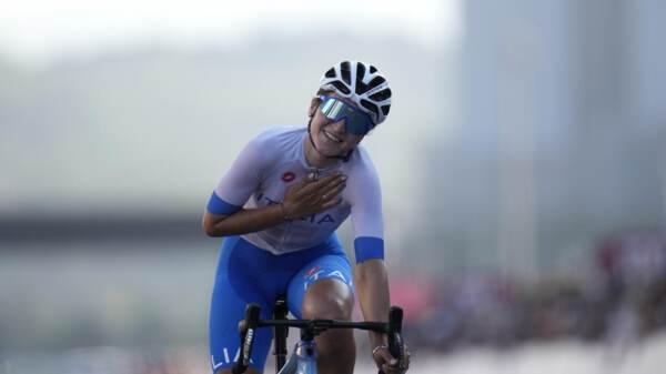 """Tokyo 2020, Longo Borghini è ancora bronzo: """"Ho corso più di cuore che di gambe"""""""