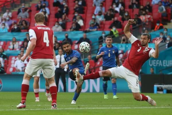 ENG, UEFA EM 2021, Italien vs Österreich
