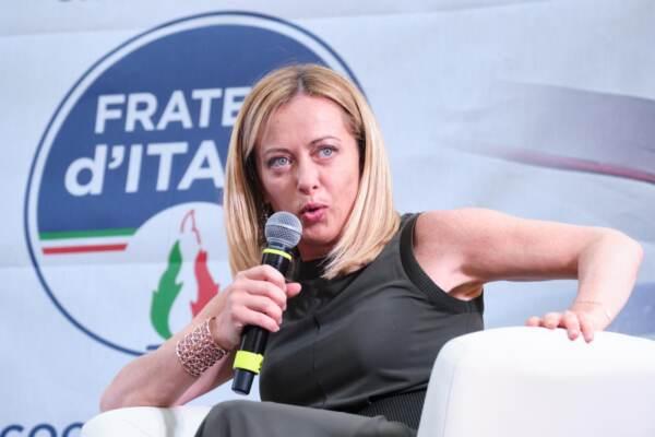 Fratelli d'Italia FDI - presentazione libro io sono Giorgia