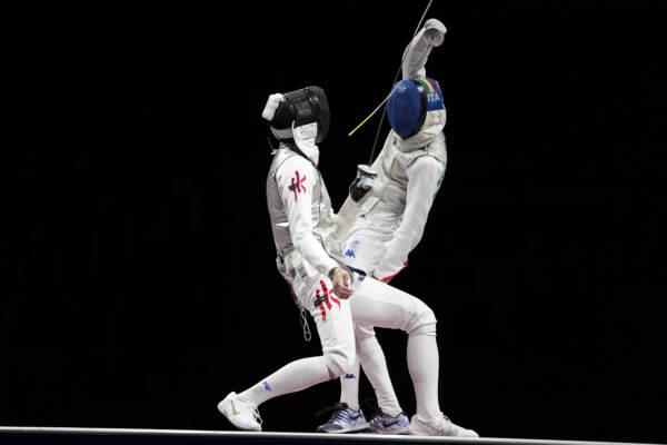 """Tokyo2020, argento per Garozzo nel fioretto: """"Fa molto male"""""""
