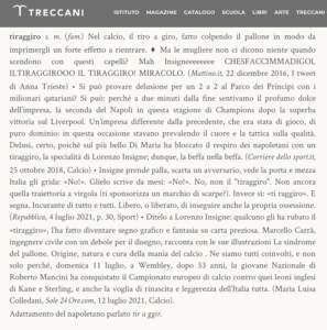 """Tiraggiro"""" di Insigne tra i neologismi della Treccani"""