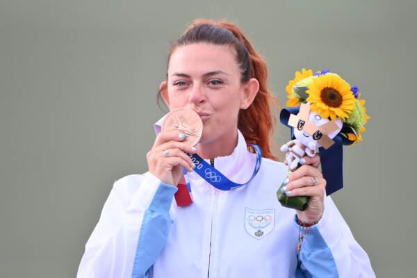 Tokyo 2020, Day 6: Perilli vince bronzo nel trap femminile, prima medaglia olimpica per San Marino