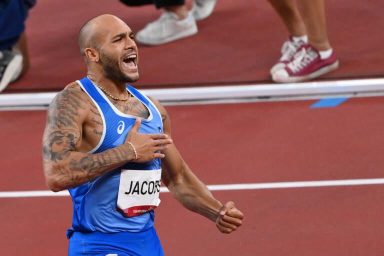 Tokyo 2020, 2 medaglie d'oro nell'atletica per l'Italia con Jacobs nei 100 metri e Tamberi nel salto in alto