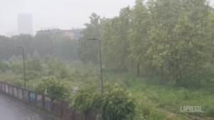 Maltempo al Nord, in Lombardia temporali e vento